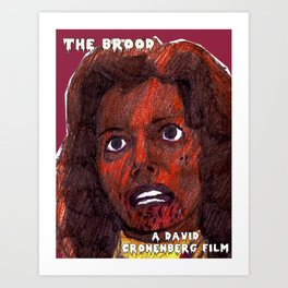 The Brood Art Print