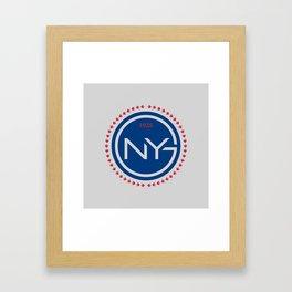 NYGFC (Italian) Framed Art Print
