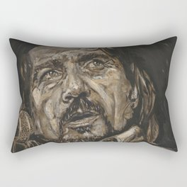 Waylon Jennings Rectangular Pillow