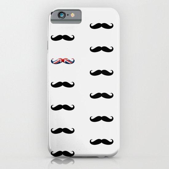 Union Jack Mustache iPhone & iPod Case