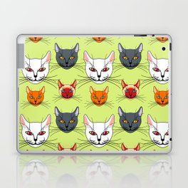 Various colored cats Laptop & iPad Skin