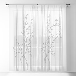 Branch Sheer Curtain