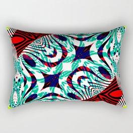 Mix #222 Rectangular Pillow