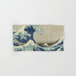 The Great Wave off Kanagawa Hand & Bath Towel
