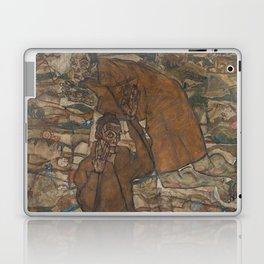 Egon Schiele - Levitation (The Blind II) Laptop & iPad Skin
