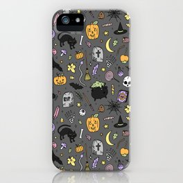 Halloween Spooky Time iPhone Case