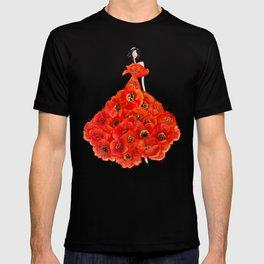 Fashion poppies T-shirt