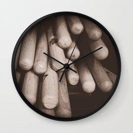 A Drummer's Arsenal Wall Clock