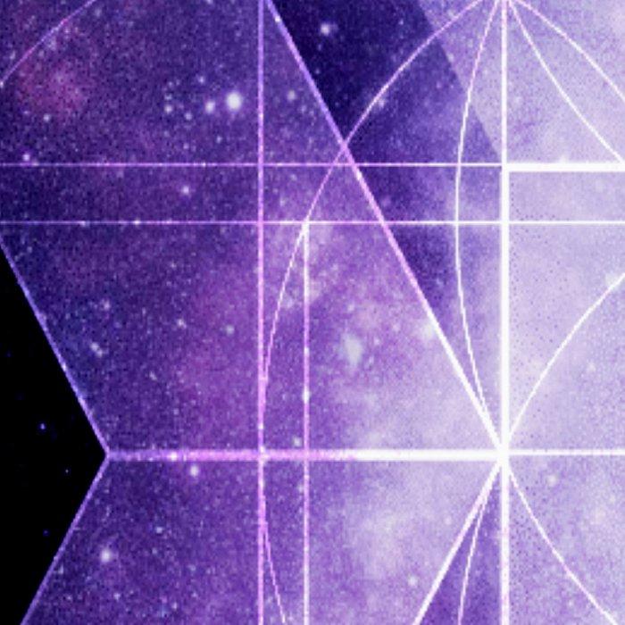 galaxy sacred Geometry Leggings