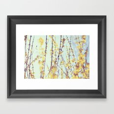 Yellow Daydreams Framed Art Print