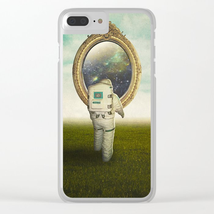 Mirror Clear iPhone Case