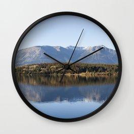Lake Pyramid Canada Wall Clock