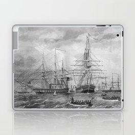 U.S. Naval Fleet During The Civil War Laptop & iPad Skin