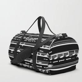 Music sheet Duffle Bag