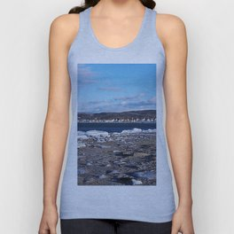 The Cove in Winter Unisex Tank Top
