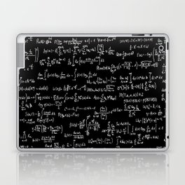 Math Equations // Black Laptop & iPad Skin