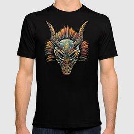 Killmonger Tribal Mask T-shirt