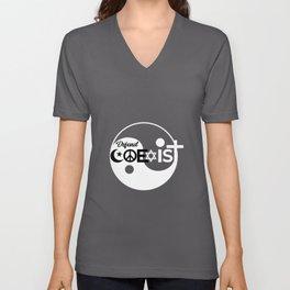 Defend Coexist Religion Unisex V-Neck