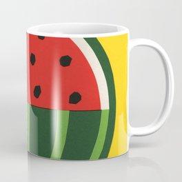 Three Quarter Watermelon Coffee Mug