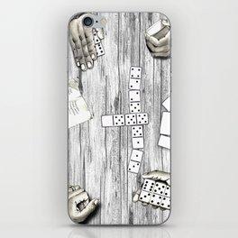 """Dominoes, anyone?"" iPhone Skin"