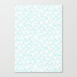 Sequence 36 - Mountains Canvas Print