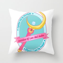 Love And Justice Throw Pillow