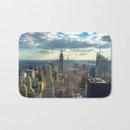 View Of New York City Bath Mat