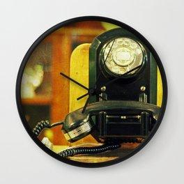 Calling the Operator Wall Clock