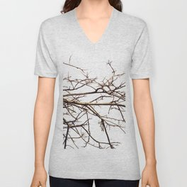 Tree branches no.3 Unisex V-Neck