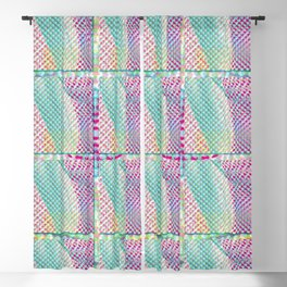 Repetitious Dots Blackout Curtain