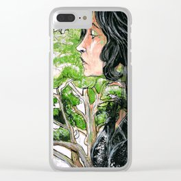 The Fruit Salad Tree Clear iPhone Case