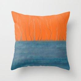 Threadbare Throw Pillow