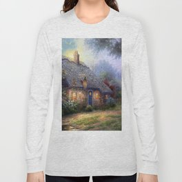 Moonlight Cottage Long Sleeve T-shirt