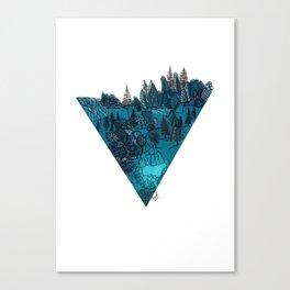 Verdant Valley Canvas Print