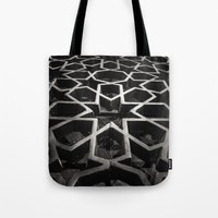 architect Tote Bags featuring Moroccan Architect by sohailchouhan