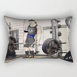 Campbell Fitness Deadlift Rectangular Pillow