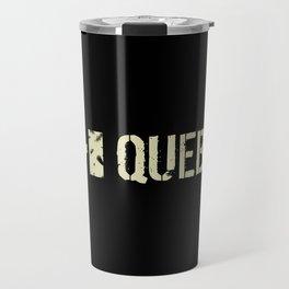 Canadian Flag: Quebec Travel Mug