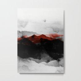 nature montains Metal Print