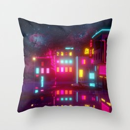On The Brink Of Tomorrows Throw Pillow