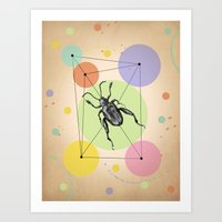 bug Art Prints featuring bug by mark ashkenazi