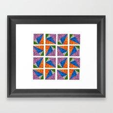 Sparkling Shape II Framed Art Print