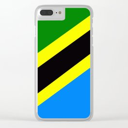 Flag of Tanzania Clear iPhone Case