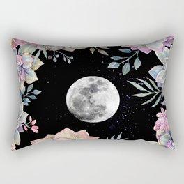 succulent full moon 4 Rectangular Pillow