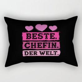 Best Boss In The World Rectangular Pillow