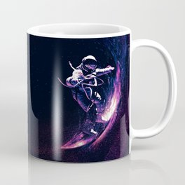 Space Surfing Coffee Mug