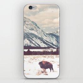 Bison & Tetons iPhone Skin