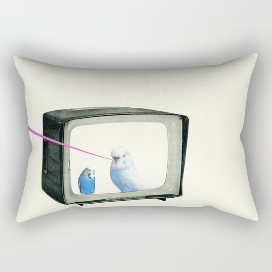 Talk Show Rectangular Pillow