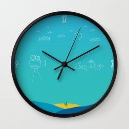 San Diego Latino Film Festival Wall Clock