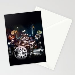 Drum Machine - The Band's Engine Stationery Cards
