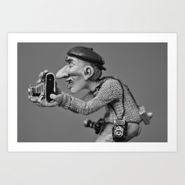 my freelance photographer Art Print